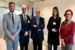 Fundación Vet+i presenta sus iniciativas al nuevo director de la Agencia Estatal de Investigación (AEI)