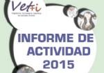 Publicado el Informe de Actividades de Vet+i de 2015